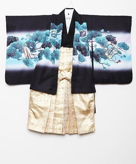 1251648-1251656 男児羽織袴セット