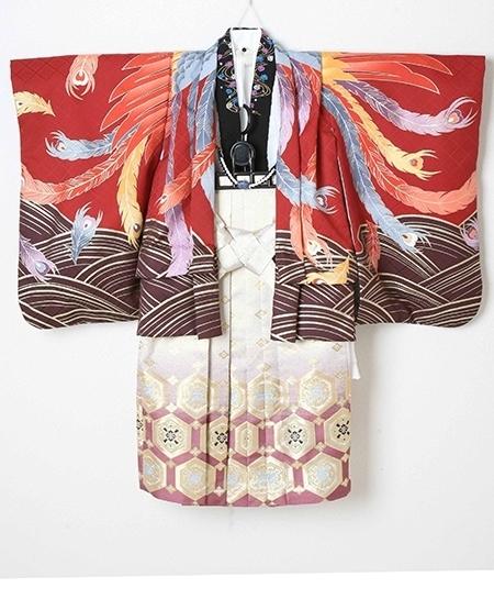 1253191 男児羽織袴セット