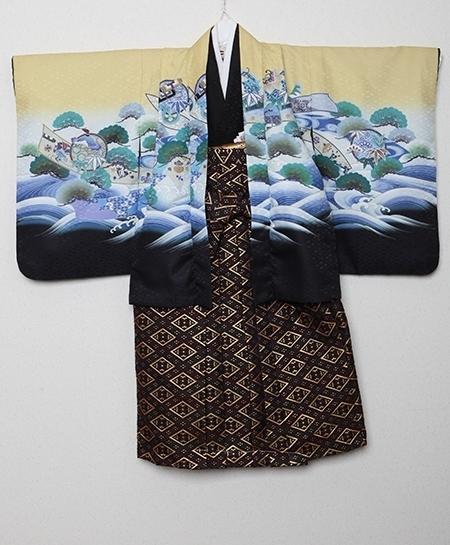 1251650-1251651 男児羽織袴セット